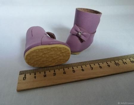 Сапожки для кукол ручной работы на заказ