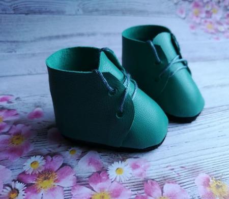 Ботиночки для куклы ручной работы на заказ
