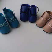 фото: Материалы для творчества (ботиночки для кукол)