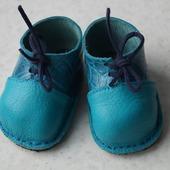 Ботиночки для беби Анабель (Baby Annabell) из натуральной кожи