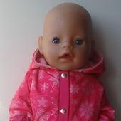 Куртка для беби бон (baby born)