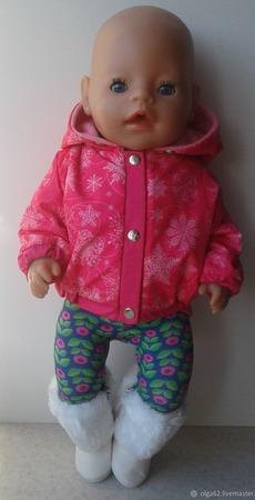 Куртка для беби бон (baby born) ручной работы на заказ