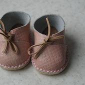 Кожаная обувь для беби бона ( baby born )