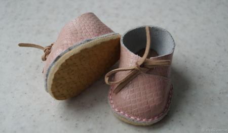 Кожаная обувь для беби бона ( baby born ) ручной работы на заказ
