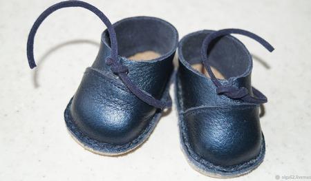 Кожаные ботинки для беби бона ( baby born ) ручной работы на заказ