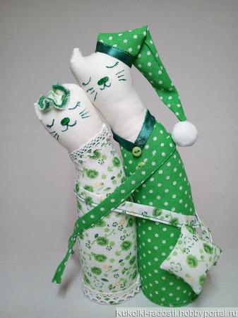 Котики-обнимашки ручной работы на заказ