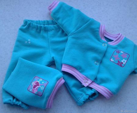 Комплект одежды для беби бона (baby born) ручной работы на заказ