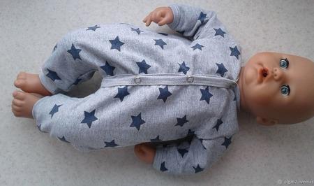 Комбинезон для беби Анабель 46 см ручной работы на заказ