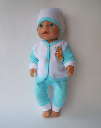 Одежда для новорожденного пупса беби борн (baby born) ручной работы на заказ