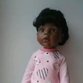 Трикотажный комплект одежды для куклы ГОТЦ
