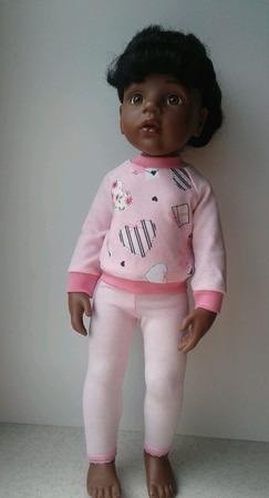 Трикотажный комплект одежды для куклы ГОТЦ ручной работы на заказ
