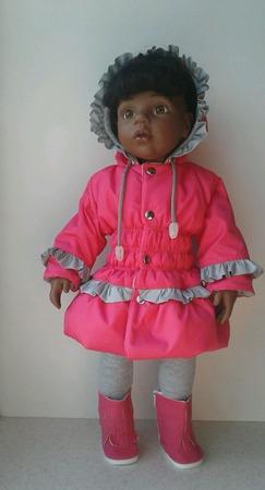 Курточка для куклы ГОТЦ ручной работы на заказ
