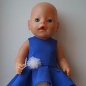 Нарядное платье для беби бона (baby born)