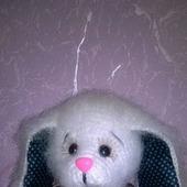 фото: Куклы и игрушки (белый зайка)