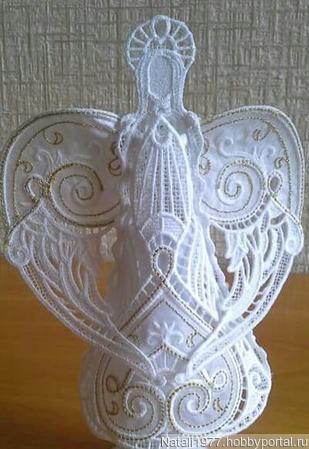 Ангел 3д ручной работы на заказ