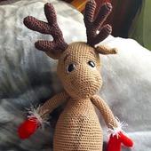 фото: Куклы и игрушки (амигуруми олень)