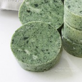 Шампуневое мыло натуральное со спирулиной