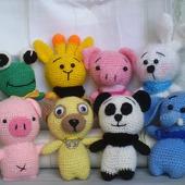 Набор  игрушк-Зоопарк