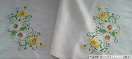 Рушник Ромашки ручной работы на заказ