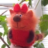 Карамелька. кошечка из мультфильма Три кота. подарок. сувенир