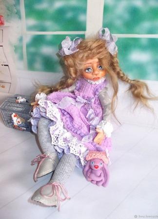 """Таточка. Кукла авторская. Из серии """"Натусики"""". ручной работы на заказ"""