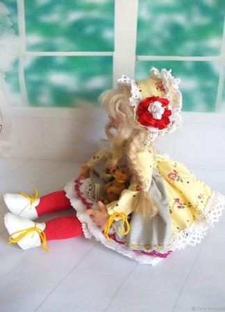 """Кристина. Кукла авторская. Из серии """"Натусики"""". ручной работы на заказ"""