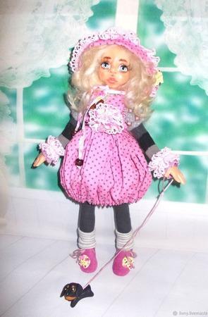 """Вероника. Кукла авторская. Из серии """"Натусики"""". ручной работы на заказ"""