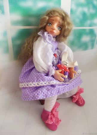 """Джульетта ... Кукла авторская. Из серии """"Натусики"""". ручной работы на заказ"""