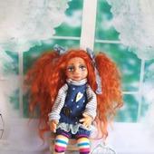 """Алла. Аллочка. Кукла авторская., коллекционная. Из серии """"Натусики""""."""