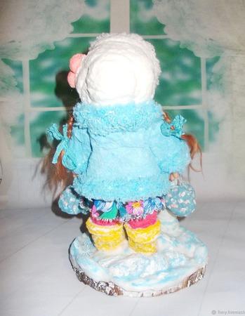 """Варя. Кукла авторская. Из серии """"Натусики"""". ручной работы на заказ"""