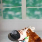Игрушка собака Бассет