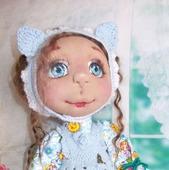 Кэти. Кэт. Катюшка. Кошечка.Кукла авторская. Кукла текстильная.