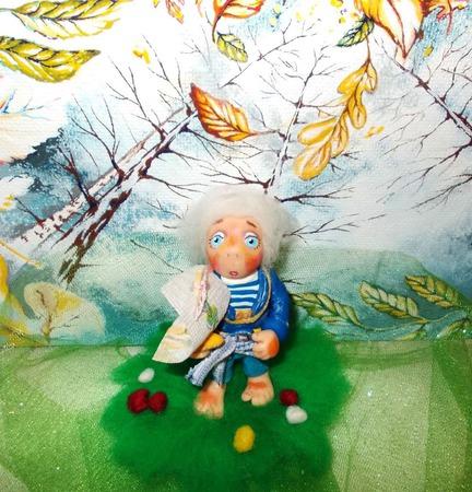 Стёпка. Морячок. Коллекционная кукла. Авторская кукла. ручной работы на заказ