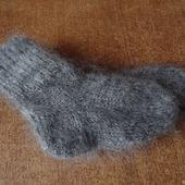 Пуховые детские носочки-тёплые, вязанные.