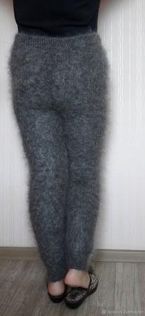Брюки,легинсы, гамаши,брюки-тёплые из козьего пуха. ручной работы на заказ