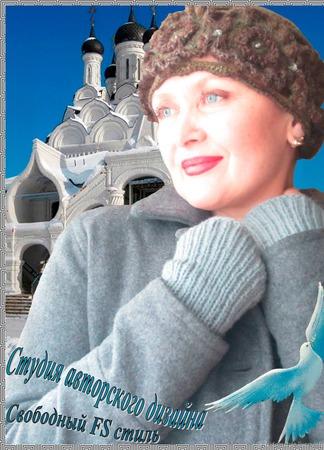 """Шапочка в русском стиле """"Ярославна"""" ручной работы на заказ"""