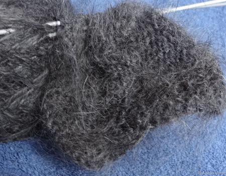 Носочная пряжа шерсть с пухом ручной работы на заказ
