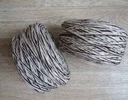 """Чисто-шерстяная овечья пряжа,носочная """"Меланжевая"""". ручной работы на заказ"""