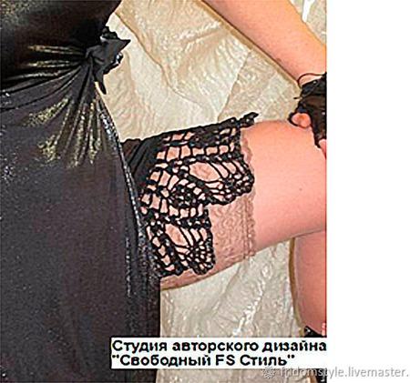 """Маленькое чёрное платье """"Шик"""" ручной работы на заказ"""