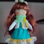 Интерьерная текстильная кукла Марьяна
