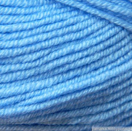 Nako Elit Baby, цвет 10305, голубой ручной работы на заказ