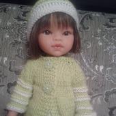 """Одежда для кукол """"Зеленый наряд"""""""