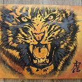 Картина оберег Тигр