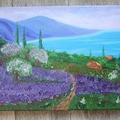 Картина маслом Утро в Провансе