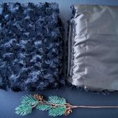 Рукавички на меху для коляски и санок
