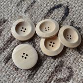 Пуговицы деревянные для кукол и мишек Тедди