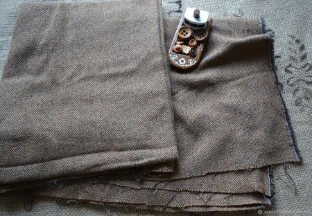 Твид ткань для кукол ручной работы на заказ