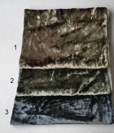 Плюш винтажный для мишек Тедди №8 ручной работы на заказ