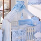 Полог на детскую кроватку, в идеальном состоянии ручная работа