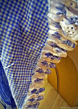 Полог на детскую кроватку, в идеальном состоянии ручная работа ручной работы на заказ